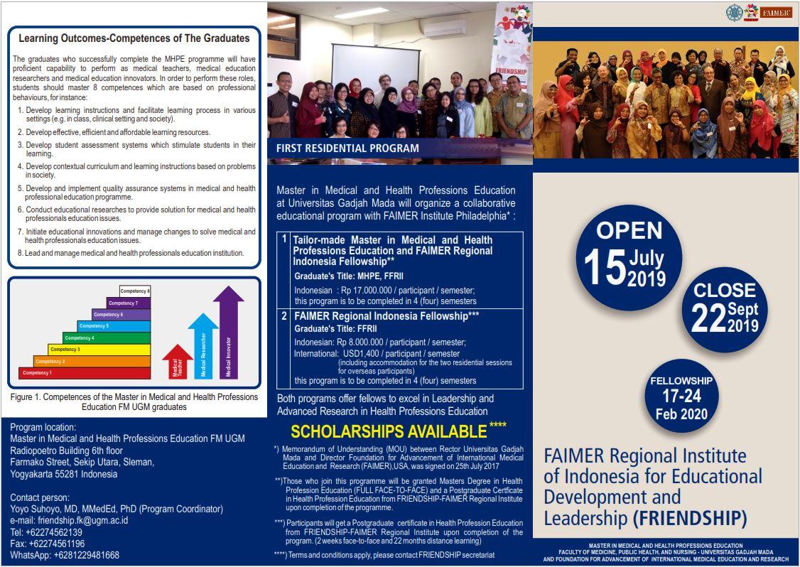 Faimer Regional Indonesia – Medical Education and Bioethic